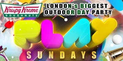OUTDOOR PARTY, SUNDAY 21st APRIL. PLAY SUNDAYZ. OUTDOOR. DJ. SHISHA. GAMES. MUSIC. FOOD. DAY PARTY. £5