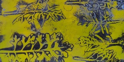 Gelli Printing inspired by nature With Janina Maher WEDNESDAY 26TH June
