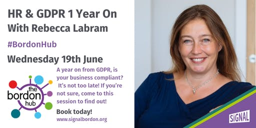 HR & GDPR 1 Year On With Rebecca Labram