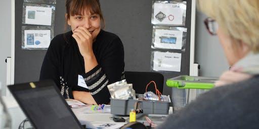 Praxisprojekte mit Mikrocontrollern für Kinder und Jugendliche