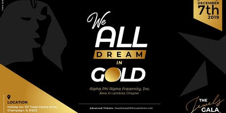 """The Jewels Gala: """"We All Dream In Gold"""" tickets"""
