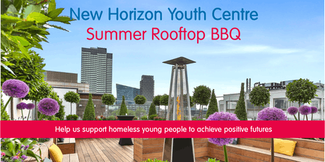 New Horizon Youth Centre Summer Rooftop BBQ tickets