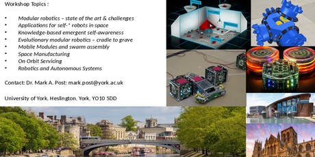 Self-Configuring Modular Robotics for Earth and Space tickets