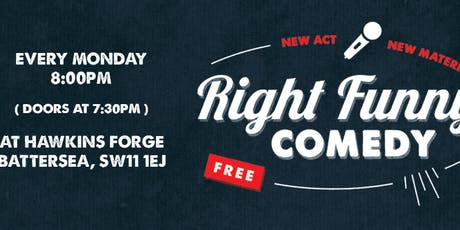 Right Funny Comedy tickets