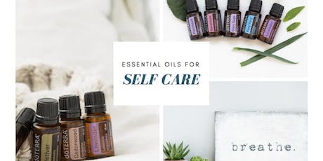 Self care and beauty with essential oils. tickets