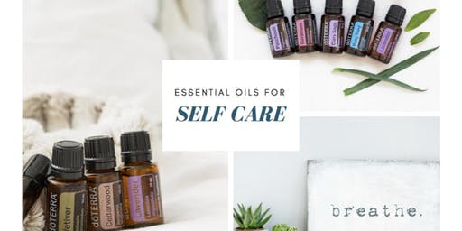 Self care and beauty with essential oils.