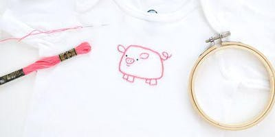 Sunday CRAFTernoon: T Shirt Embroidery
