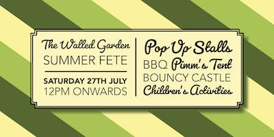 The Walled Garden Moreton Summer Fete