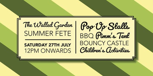 The Walled Garden Moreton Summer Fete