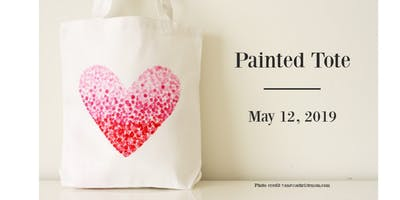 Mother's Day Workshop - Painted Tote