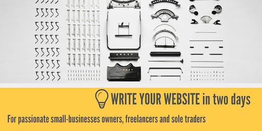 Write Your Website Workshop (June)