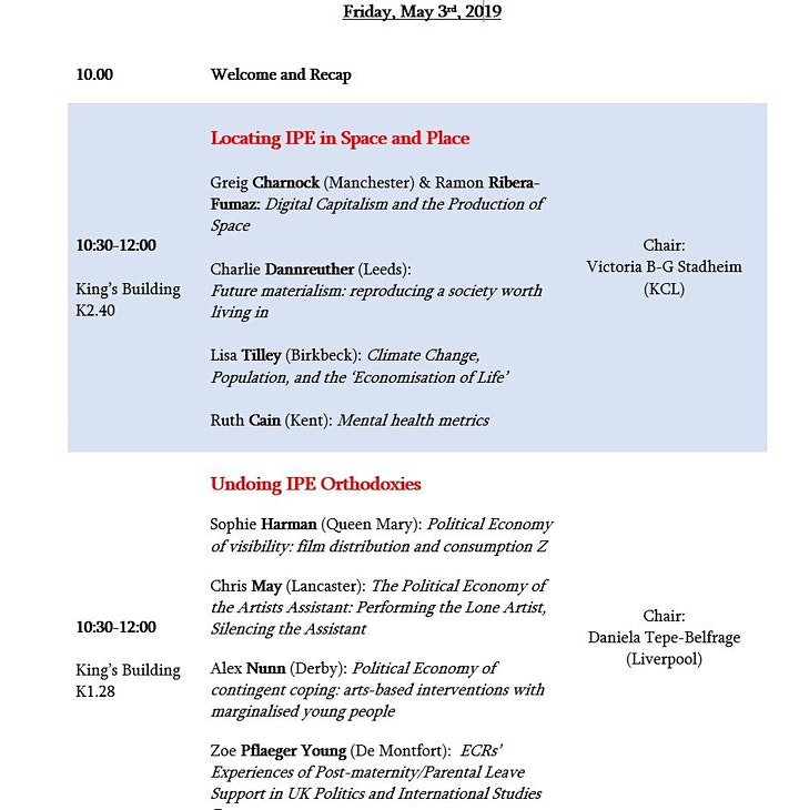 IPEG Annual Conference - IPE for the Next Century: setting the agenda image