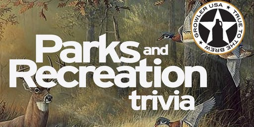 Date Change-Parks and Rec Trivia at Growler USA Katy