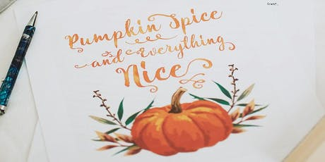 Handlettering - Thema Herbst | Workshop Tickets