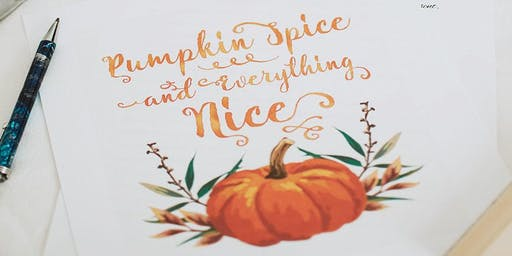 Handlettering - Thema Herbst | Workshop