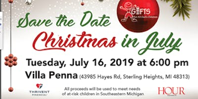 Christmas In July Annual Fundraiser
