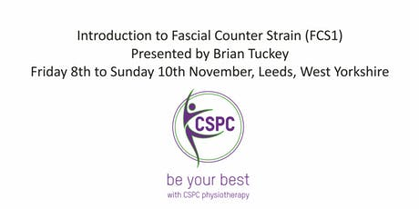 Introduction to Fascial Counter Strain (FCS1) Presented by Brian Tuckey tickets