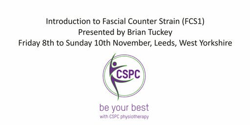 Introduction to Fascial Counter Strain (FCS1) Presented by Brian Tuckey