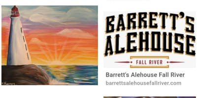 Lighthouse Sunset Adult Paint Event 18+ Fall River