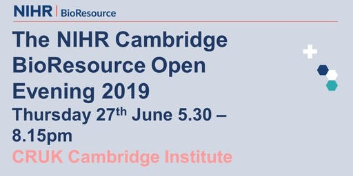 NIHR BioResource Centre Cambridge 2019 open evening