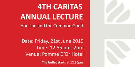 4th Caritas Annual Lecture tickets