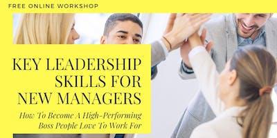 FREE Workshop: The Key Leadership Skills for New M