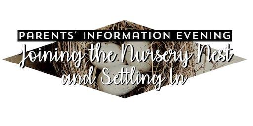 Parents' Information Evening - Thursday 17th October2019 DD