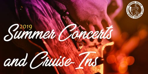 Summer Concert Series and Cruise-In with 20 Ride!
