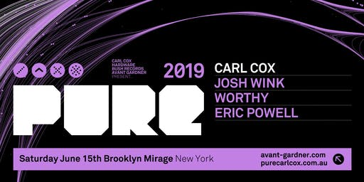 Carl Cox Presents PURE NY