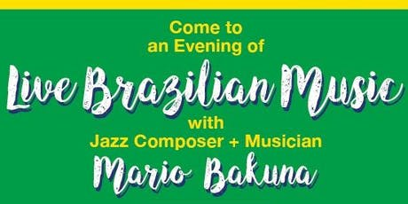 Fundraising BBQ with Live Brazilian Jazz! tickets