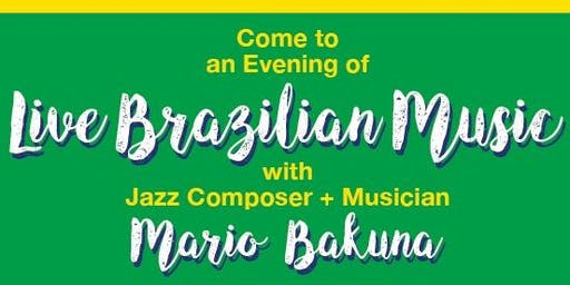 Fundraising BBQ with Live Brazilian Jazz!