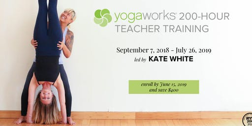 RYT200-Hour YogaWorks Yoga Teacher Training Info Session and YogaWorks Class