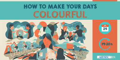 How to make your days colourful