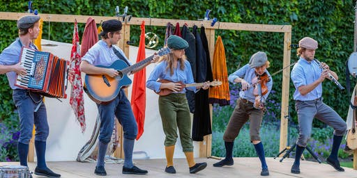 Parade Gardens, Bath - The Three Inch Fools: Much Ado About Nothing