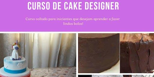 Curso de Cake Designer para iniciantes