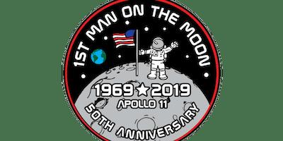 2019 First Man On The Moon 1 Mile, 5K, 10K, 13.1, 26.2 -Trenton