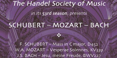 Handel Society of Music Spring Concert 2019 (GENERAL)