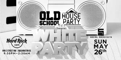 OLD SCHOOL HOUSE PARTY VOL 3 - ALL WHITE PARTY