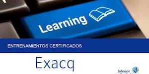 Certificación Exacq - Santiago/CL - 16 Abril 2019