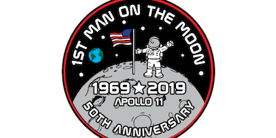 2019 First Man On The Moon 1 Mile, 5K, 10K, 13.1, 26.2 -Dallas