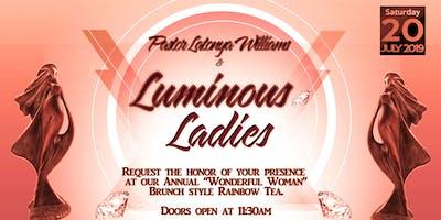 Luminous Ladies Annual Tea- Wonderful Woman