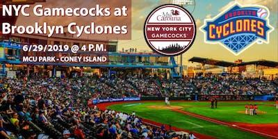 NYC Gamecocks at Brooklyn Cyclones