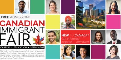 Calgary Canadian Immigrant Fair tickets