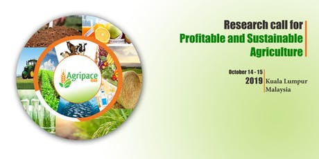 Agripace 2019 - 4th International Conference On Agriculture & Food Sciences tickets