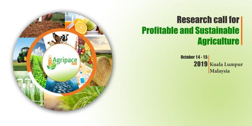 Agripace 2019 - 4th International Conference On Agriculture & Food Sciences