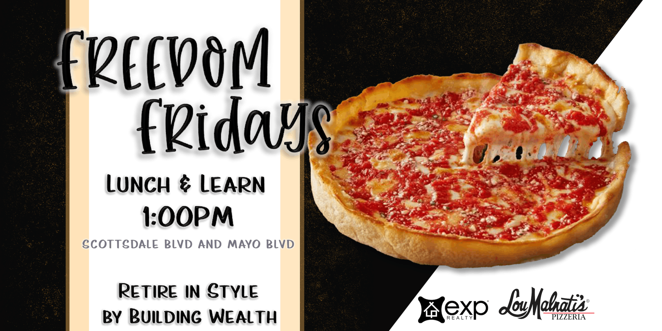 Freedom Friday - Lunch & Learn