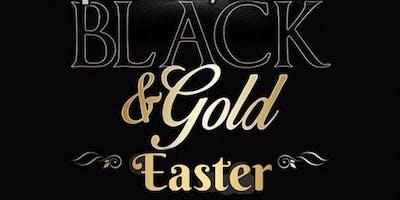 Black & Gold Easter