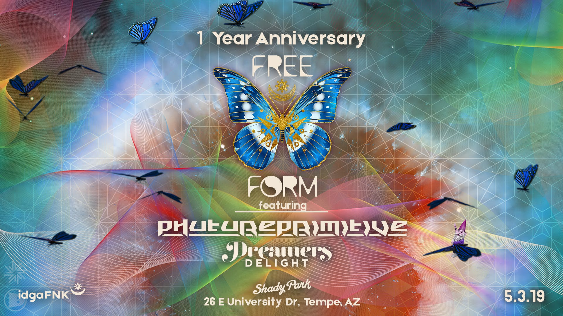 Free Form 1 Year Anniversary ft. Phutureprimitive & Dreamers Delight