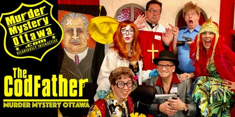 Murder Mystery Ottawa - The CodFather, Popcorn Theatre at The Prescott tickets