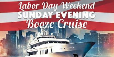 Labor Day Weekend Sunday Evening Booze Cruise aboard Mystic Blue